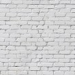 White brick wall — Stock fotografie #6119709