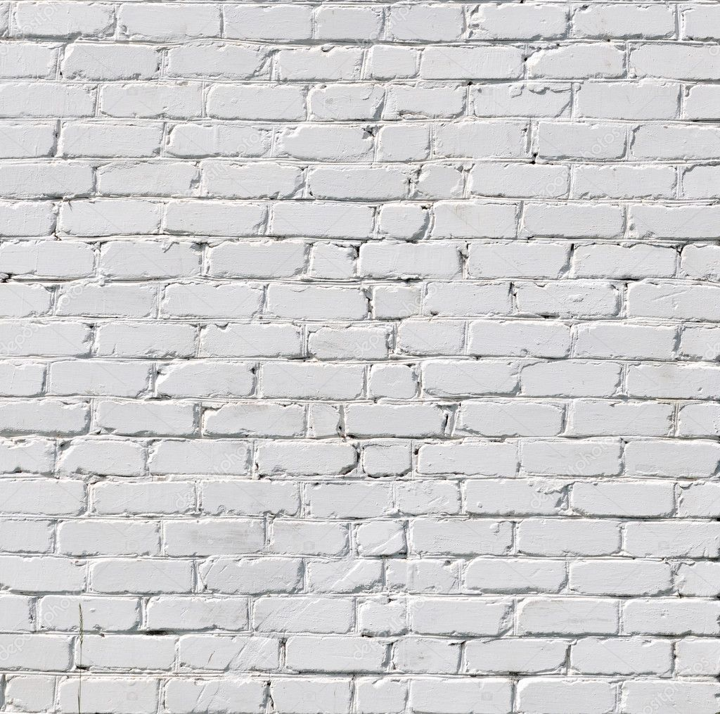 A white brick wall — Stock Photo #6119709