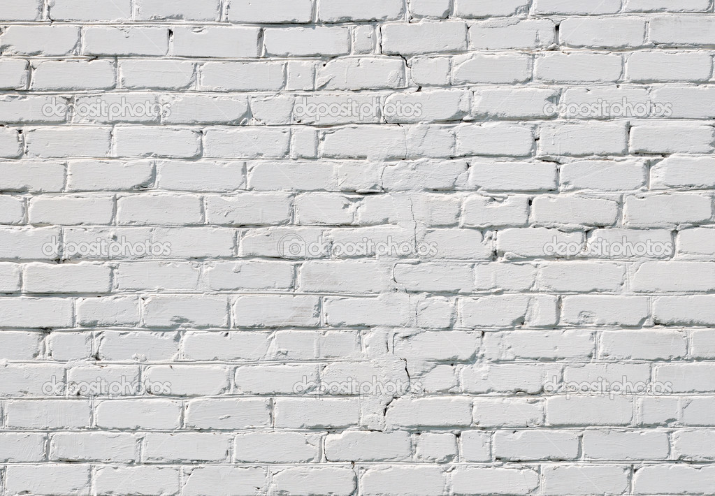 A white brick wall  — Stock Photo #6119731
