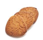 Fresh oats cookies — Stock Photo