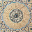 Stock Photo: Brickwork inside dome of the mosque