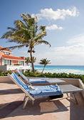 Balkon na pláž — Stock fotografie