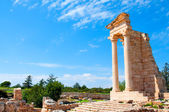 Ruins of the Sanctuary of Apollo Hylates — Stock Photo