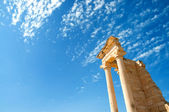 The Sanctuary of Apollo Hylates opposite blue sky — Stock Photo