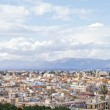 Panoramic view of Nicosia city — Stock Photo