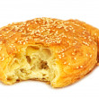 Stock Photo: Traditional Cypriot village style cheese pie