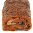 Chocolat Roulade — Stock Photo
