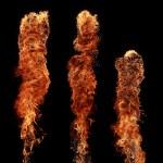 Fire pillars — Stock Photo #5962352