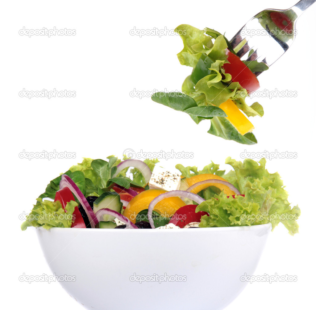 Fresh garden salad Stock Photo Kesu01 5971423