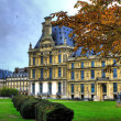 Royalty-Free Stock Photo: Beautiful view of Louvre palace