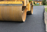 Paving machine — Stock Photo