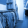 Interior of  fashion boutique in modern shopping mall - Stock Photo