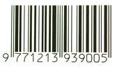 Этикетка со штрихкодом — Стоковое фото