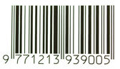 Bar code label — Stock Photo