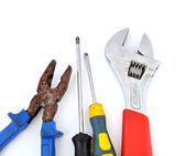 Old Tool set — Stock Photo