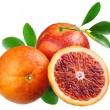 Stock Photo: Blood red oranges