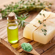 Piece of natural soap. — Stockfoto
