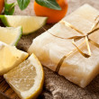 Lemon soap — Stock Photo