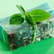 Piece of natural soap. — Stock Photo