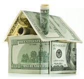 Dollar house — Stock Photo