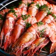 Boiled shrimp - Stok fotoraf