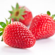 Appetizing strawberry. - Stock Photo