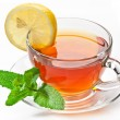 Cup tea with mint. — Foto de Stock   #6039526