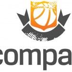 Basketball League logo — Stock Vector