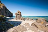 Lovely rocky beach — Stock Photo