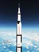 Saturn Rocket — Stock Photo