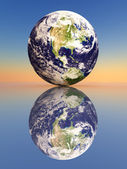 The Earth — Stock Photo