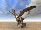 Microraptor — Stock Photo