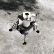Stock Photo: Lunar Module