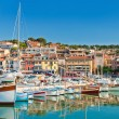 Stock Photo: Seaside town of Cassis in French Riviera