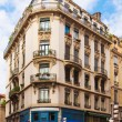 Scene from downtown Lyon, France - Stock Photo