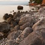 Messinian rocky seascape — Stock Photo #5570450