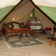 Safari Tent — Stock Photo