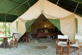 Luxury safari Tent — Stock Photo
