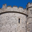 Stock Photo: Battlements
