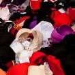 Heap of Colorful Bras — Stock Photo