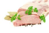 Carne in bianco — Foto Stock