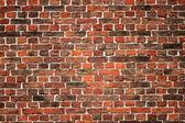 Molto vecchio muro di mattoni — Foto Stock