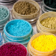 Mineral eyeshadow - Stock Photo