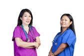 Asian Nurse — Stock Photo