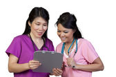 Asian Nurses — Stock Photo