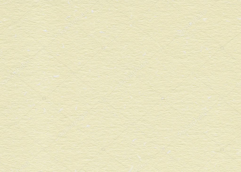 Blank yellow hand-made textured paper with particles for design-use — Stock Photo #6038472