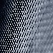 Stock Photo: Metal texture. Blue toned background.