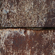 Stock Photo: Rusty square background with space for text