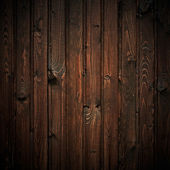 Brown wooden background, square composition. — Stock Photo