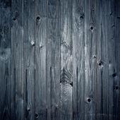 Vintage blauwe houten achtergrond, vierkante samenstelling. — Stockfoto